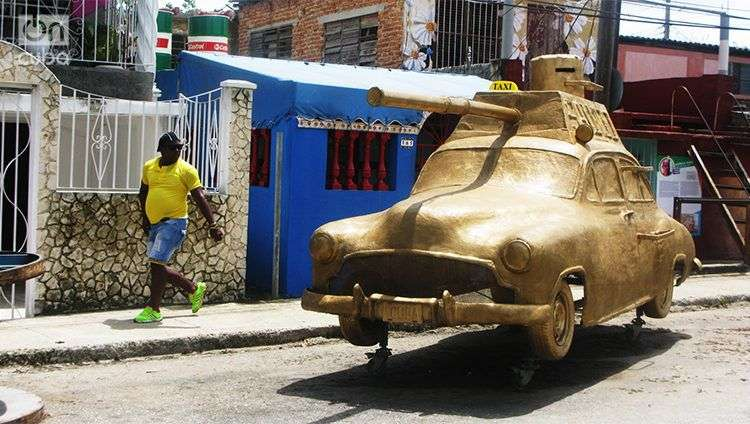 12 Bienal de Arte de La Habana en Romerillo. Foto: Yoe Suárez