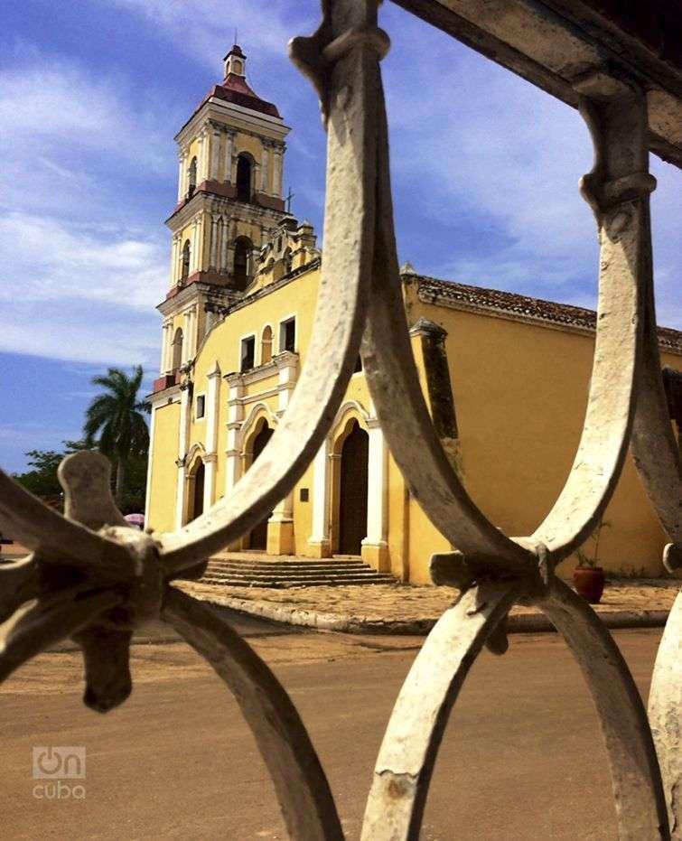 La Parroquial Mayor, ícono arquitectónico de Remedios. Foto: Tania Lorenzo