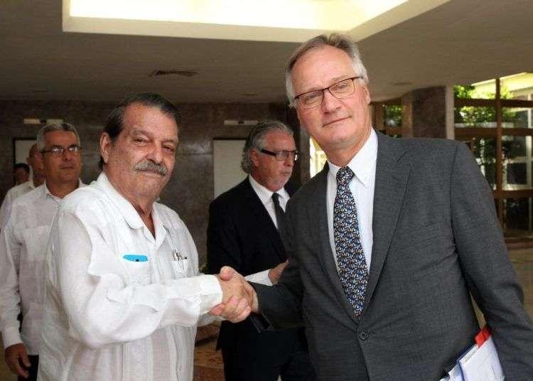 Abelardo Moreno y Christian Leffer