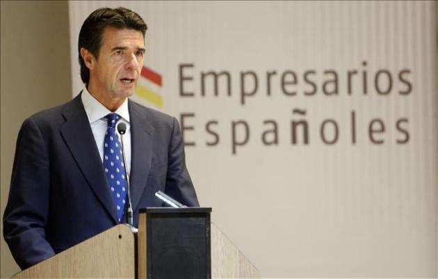 José Manuel Soria, ministro de Industria, Energía y Turismo de España, de visita en Cuba.