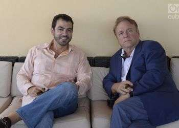 Freddy Balsera y Stephen Zack. Foto: Alain L Gutiérrez Almeida