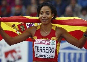 Cuatrocentista Indira Terrero. Foto: Reuters