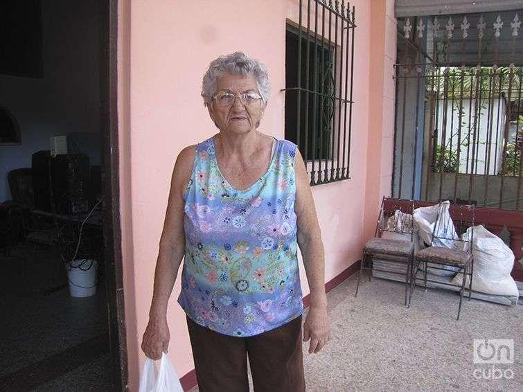 Piedad García, jubilada