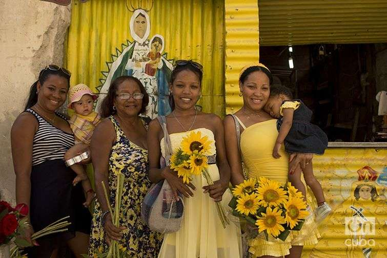 El sincretismo también se expresa en la Virgen de la Caridad. Foto: Alain L. Gutiérrez Almeida