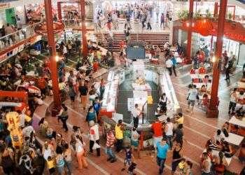 Mercado de Carlos III, en La Habana. Foto: Jordi Rafel Bergé.