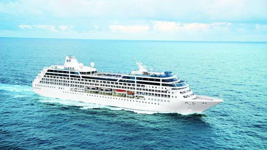 El Ocean Princess podría ser uno de los navíos que cubran la ruta Miami/Habana. Foto: Sun Sentinel