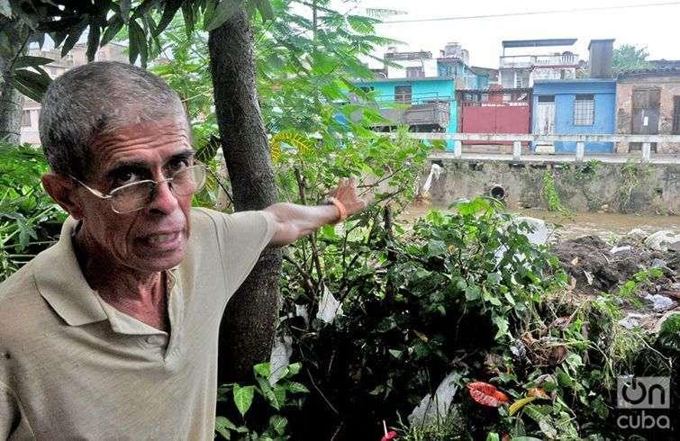 Raúl Milián Alfonso, uno de los afectados. Foto: Yariel Valdés