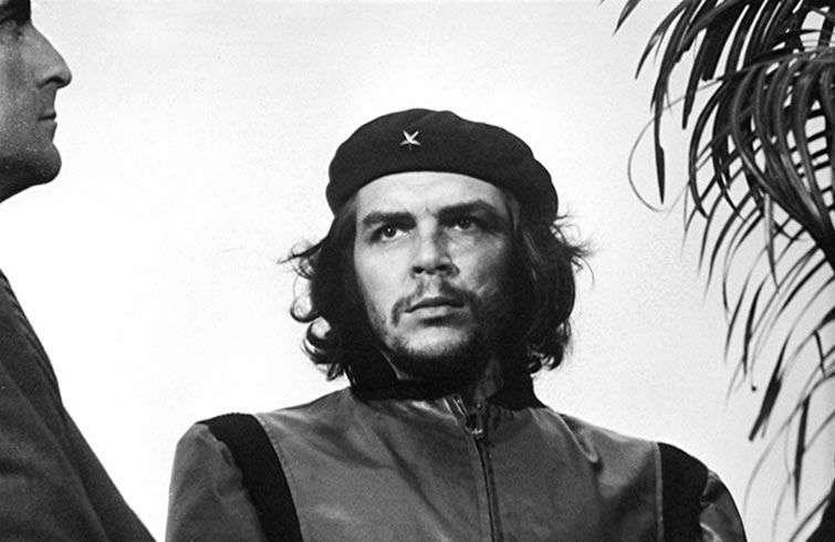 """El Che Guevara en """"Guerrillero Heroico"""". Foto: Alberto Korda."""