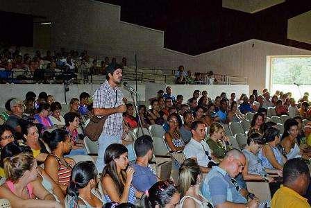 II Foro sobre consumo audiovisula. Foto: TV Cubana