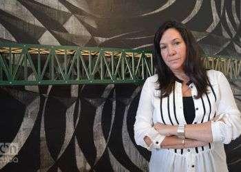 Cristina Vives, curadora de la exposición Quiz and Answer en Washington / Foto: Marita Pérez Díaz
