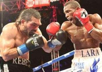 Lara demostró estar listo otra vez para rivales más calificados / Foto: Premier Boxing