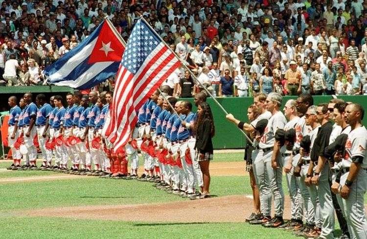 Cuba vs Orioles de Baltimore en 1999