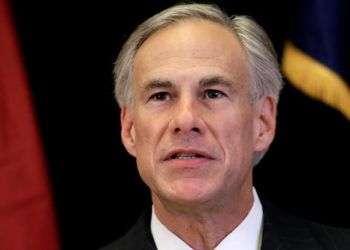El gobernador de Texas Greg Abbott.