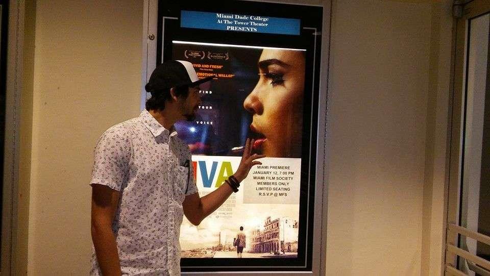 Héctor está en Miami junto al estreno de su filme. Foto: tomada de su perfil en Facebook