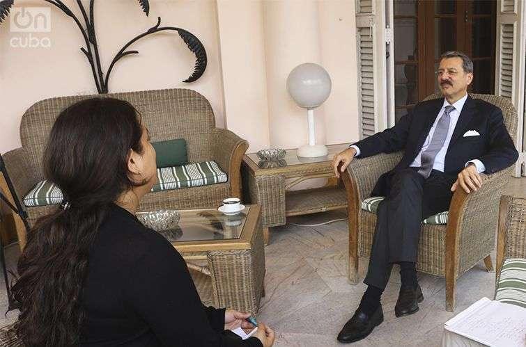 Jean-Marie Bruno, embajador de Francia en Cuba / Foto: Oiram Rodríguez Pérez