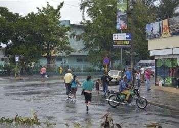 Martes 19 de enero en Santiago de Cuba. Foto: José Roberto Loo Vázquez (Sierra Maestra)