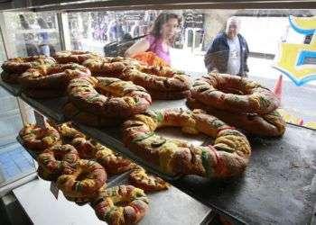 La típica Rosca de Reyes que se come hoy en México. Foto: blog.mexicodestinos.com
