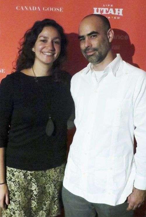Marcela Esquivel y Armando Capó / Foto: Cortesía de Armando Capó