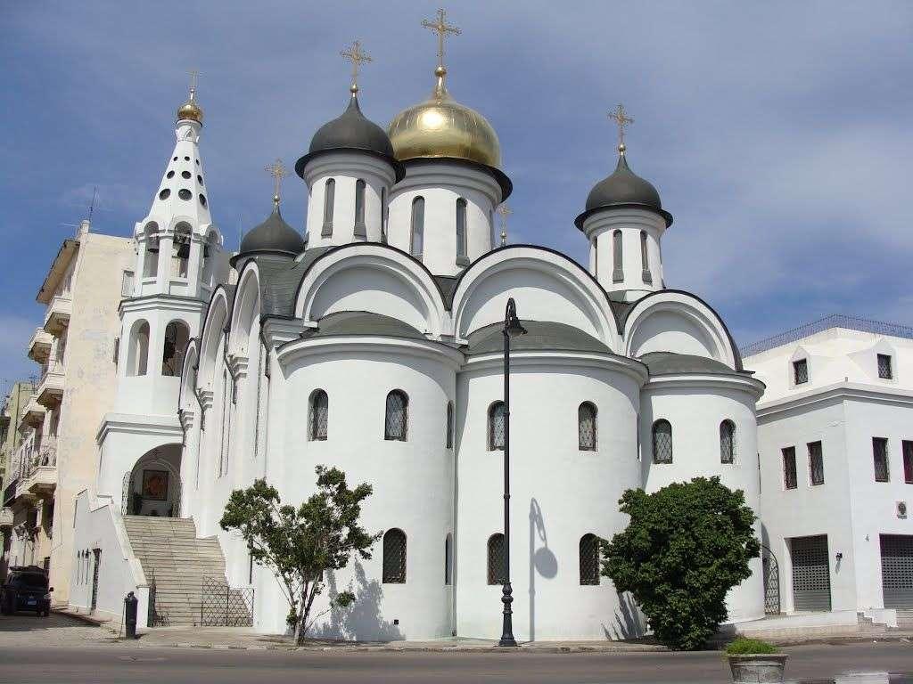 Iglesia Nuestra Señora de Kazán, en La Habana Vieja. Foto: Panoramio