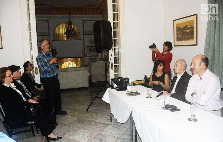 Peter Brown en la Habana / Foto: Yailín Alfaro