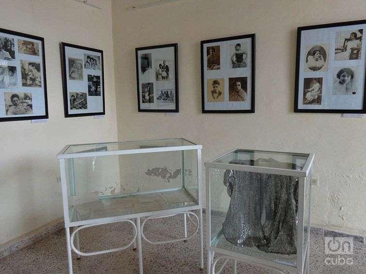 Exposición en Pinar del Río con objetos de Rita Montaner. Foto: Eduardo González