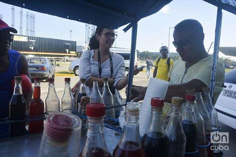 Preparativos para el concierto de Rolling Stones en Cuba / Foto: Yailín Alfaro
