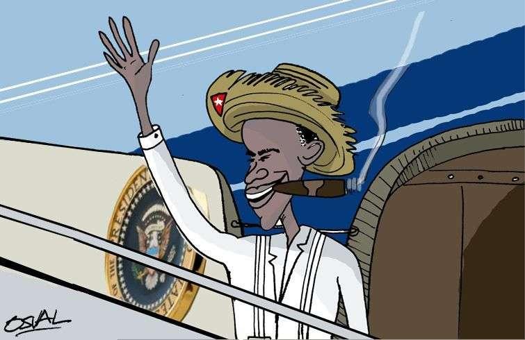 obama se va de Cuba