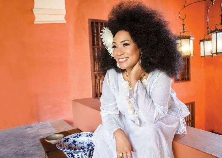 La cantante cubana Aymee Nuviola. Foto: aymenuviola.com