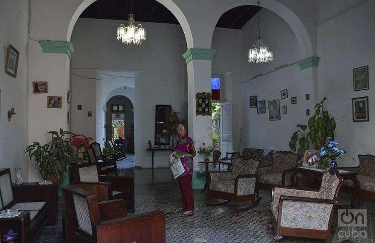 Nancy Pérez, propietaria de hostal / Foto: Marita Pérez Díaz