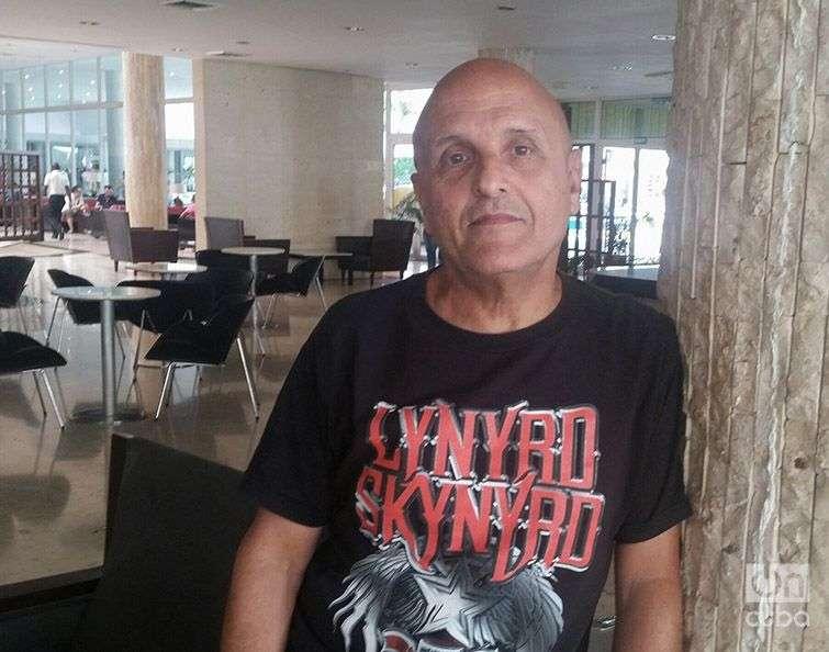 Juanito Camacho, director de Sabarock. Foto: Claudia Padrón Cueto