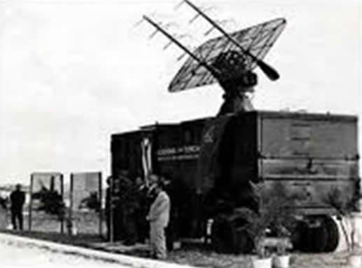 Primera Estación Terrestre Receptora de Satélites Meteorológicos instalada en Cuba. Marzo 1969.