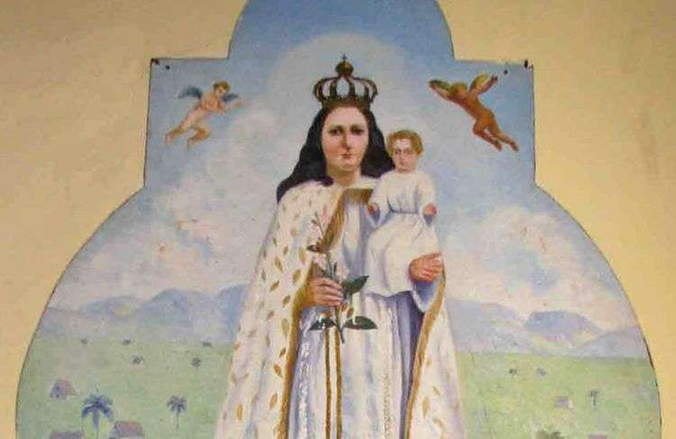 La Virgen de las Nieves, en Mantua.