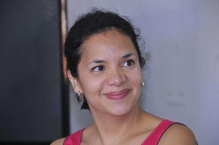 María Carolina Piña, periodista de Radio Francia Internacional / Foto: Cortesía del Centro Pablo