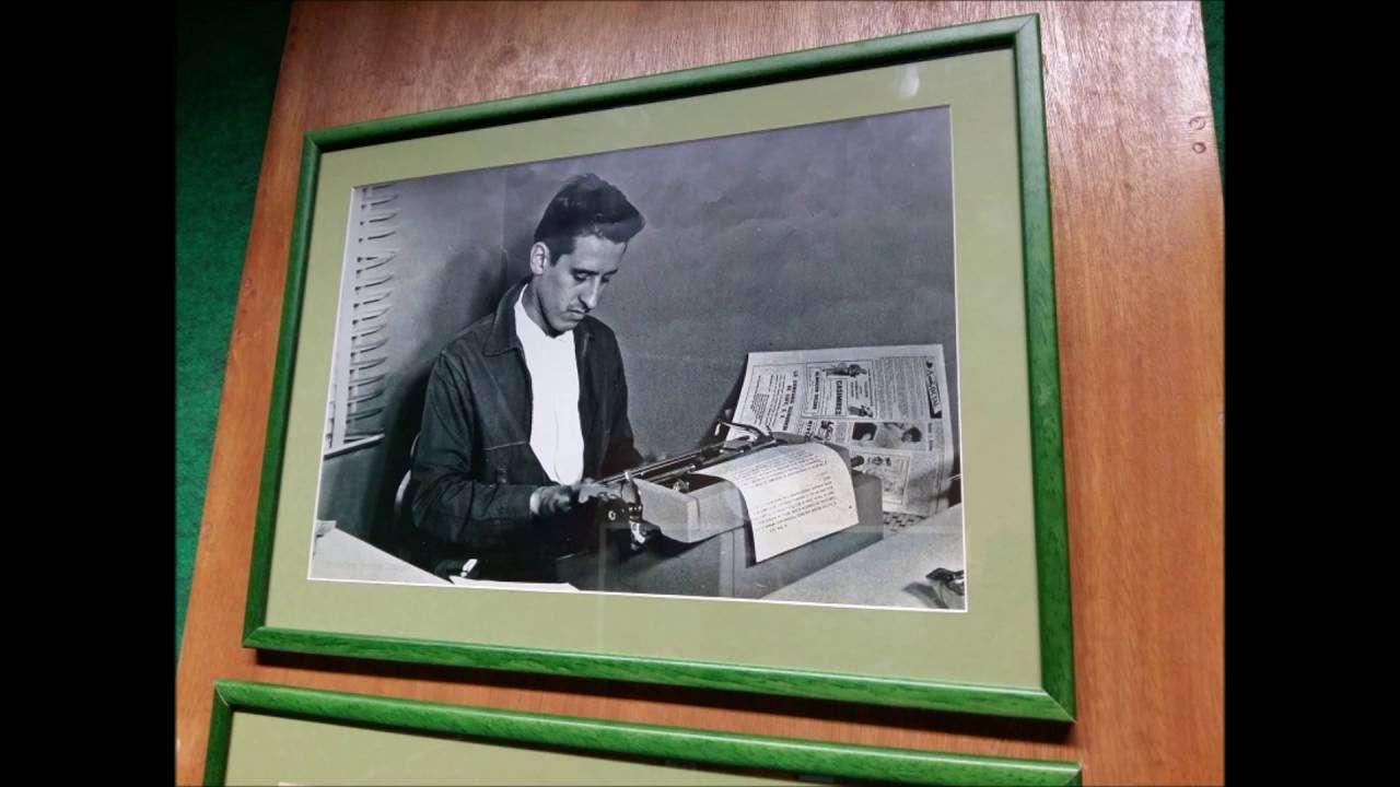 Estudio Roque Dalton en Radio Habana Cuba.