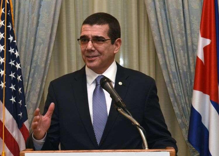 José Ramón Cabañas, embajador de Cuba en los Estados Unidos entre 2015 y 2020. Foto: Archivo.
