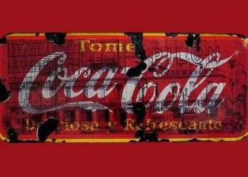 Obra del artista cubano Kadir López: Coca Cola, 2008.