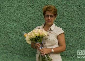 La primera maestra ronera de Cuba. Foto: Alain L. Gutiérrez Almeida