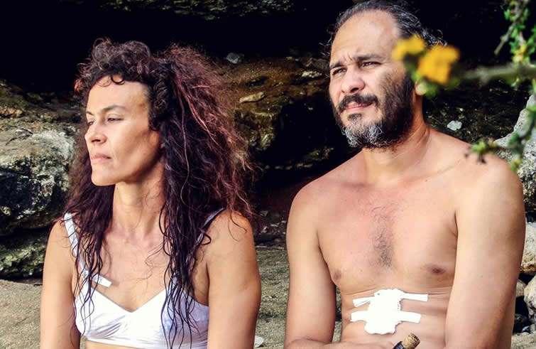 Foto de la película Santa y Andrés de Carlos Lechuga (2016).