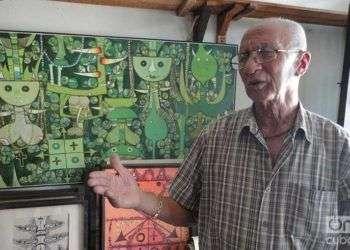 Pepe Núñez, uno de los salvadores de la colección. Foto: Maykel González Vivero
