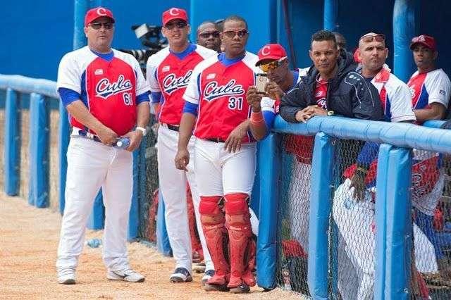Equipo cubano en la Liga Canam. Foto: lapresse.ca