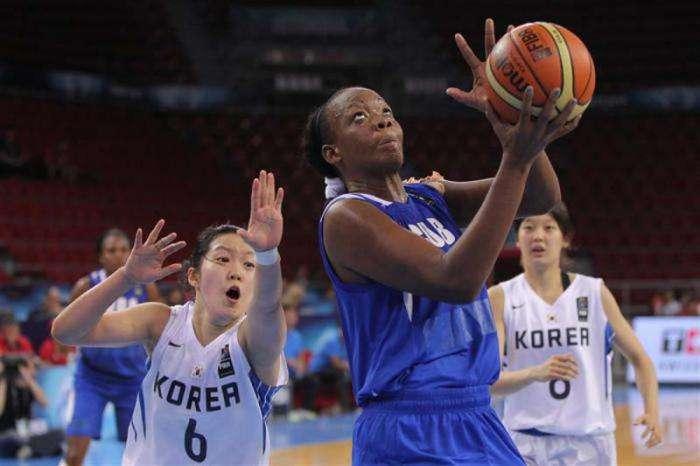 Marlene Cepeda fue de las mejores por Cuba, pero no impidió la frustación cubana. Foto: FIBA