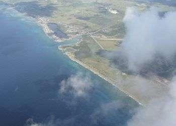 La costa de Cuba desde un avión. Foto: lainvernada.wordpress.com
