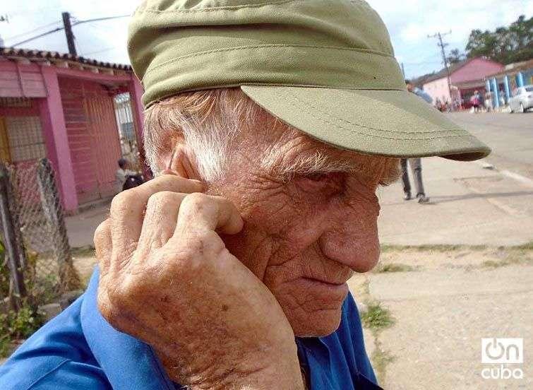 A Jesús Ramos Borrego hubo que extirparle más de la mitad de la oreja por una picadura. Foto: Ronald Suárez Rivas