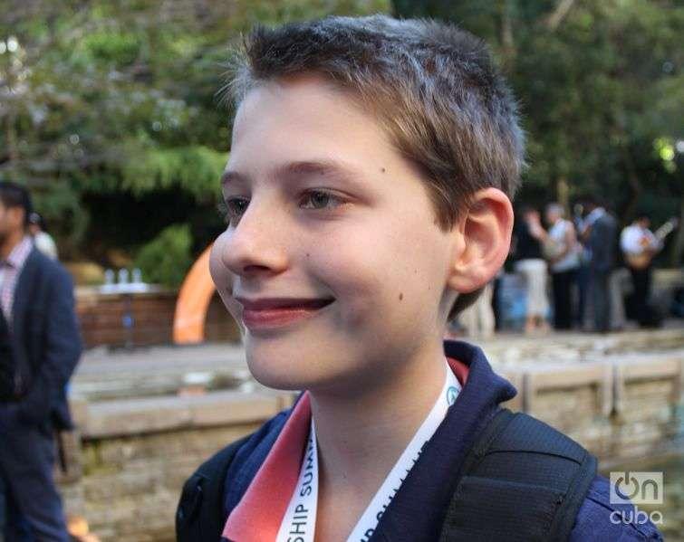 Hamish Finlasoy, 11 year old entrepreneur