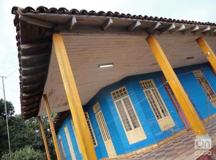Casa típica del antiguo Amaro. Foto: Maykel González Vivero.