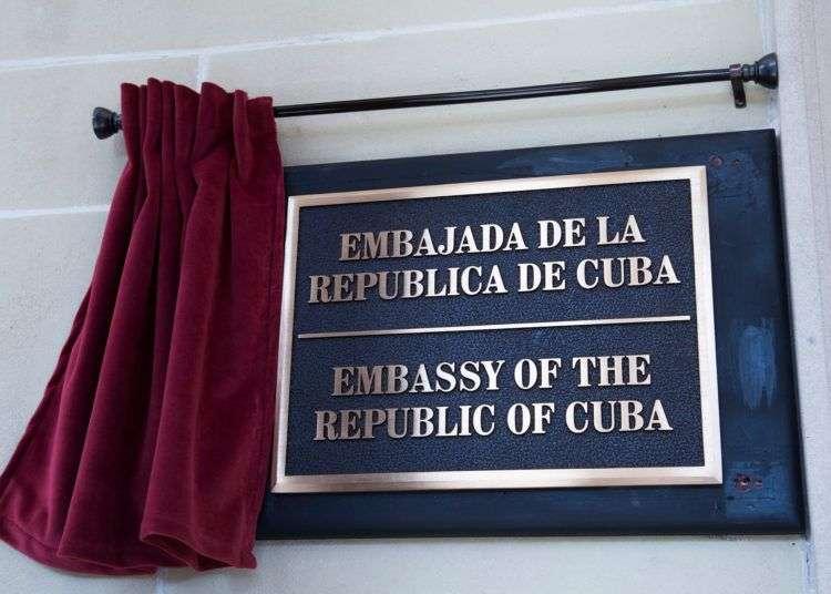Foto: Página de la Embajada cubana en EE.UU. en Facebook.