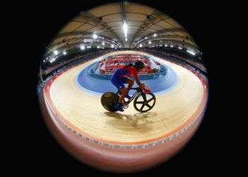 La estelar ciclista cubana Marlies Mejías. Foto: Cameron Spencer/ Getty Images / Archivo.