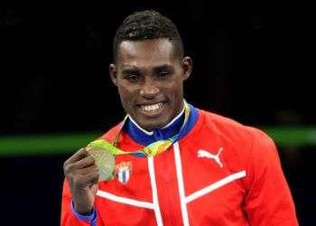 La Cruz igualó con Juan Hernández Sierra al conquistar su cuarto oro mundialista de manera consecutiva. Foto: Roberto Morejón / JIT.