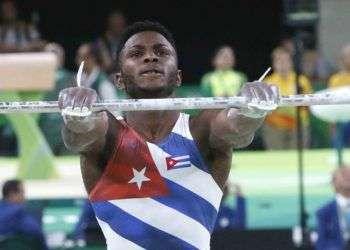 Manrique Larduet terminó quinto en el Campeonato Mundial, en el concurso de máximos acumuladores. Foto: Roberto Morejón / JIT