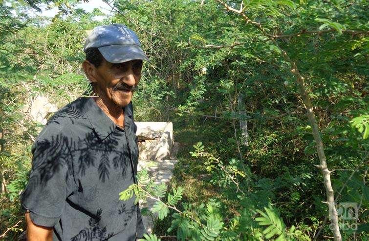 Toti, descendiente directo de los pobladores de Baja. Foto: Eduardo González Martínez